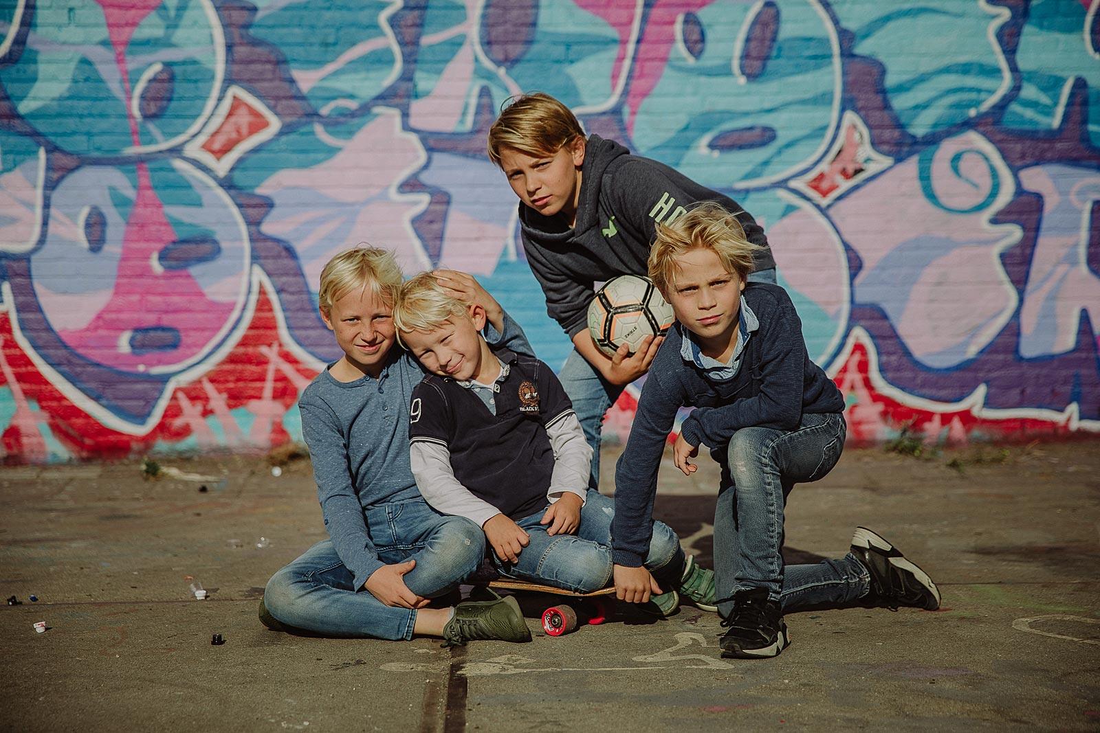stoere kindershoot amsterdam