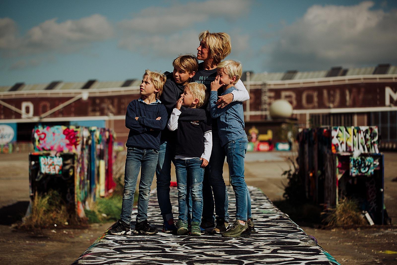 unieke familieshoot amsterdam