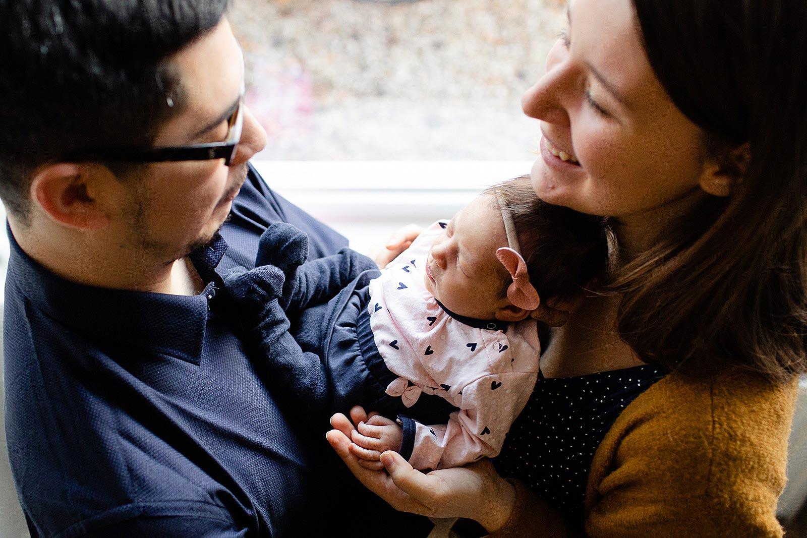 newborn op de foto haarlem
