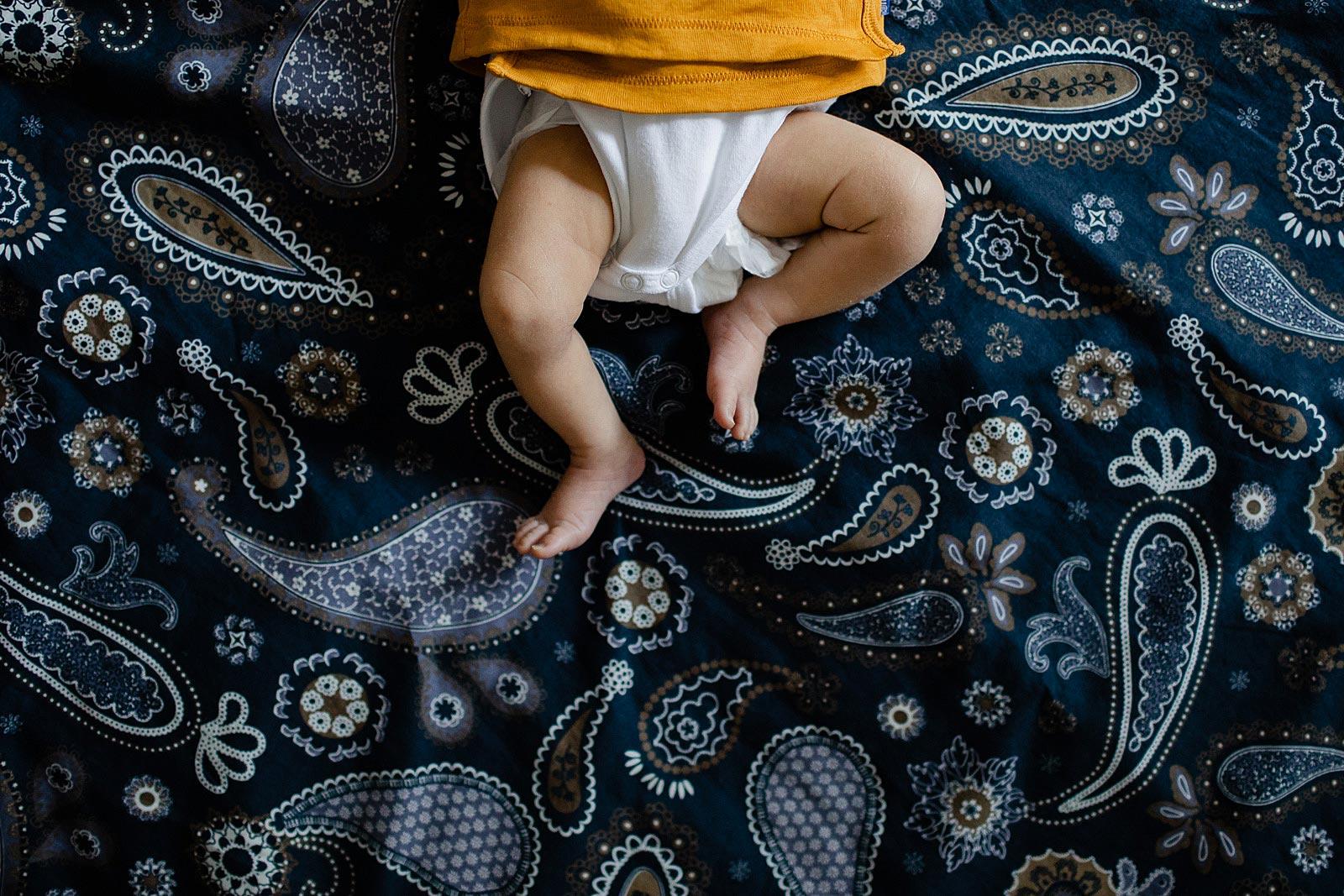 voetjes van baby fotoshoot amsterdam