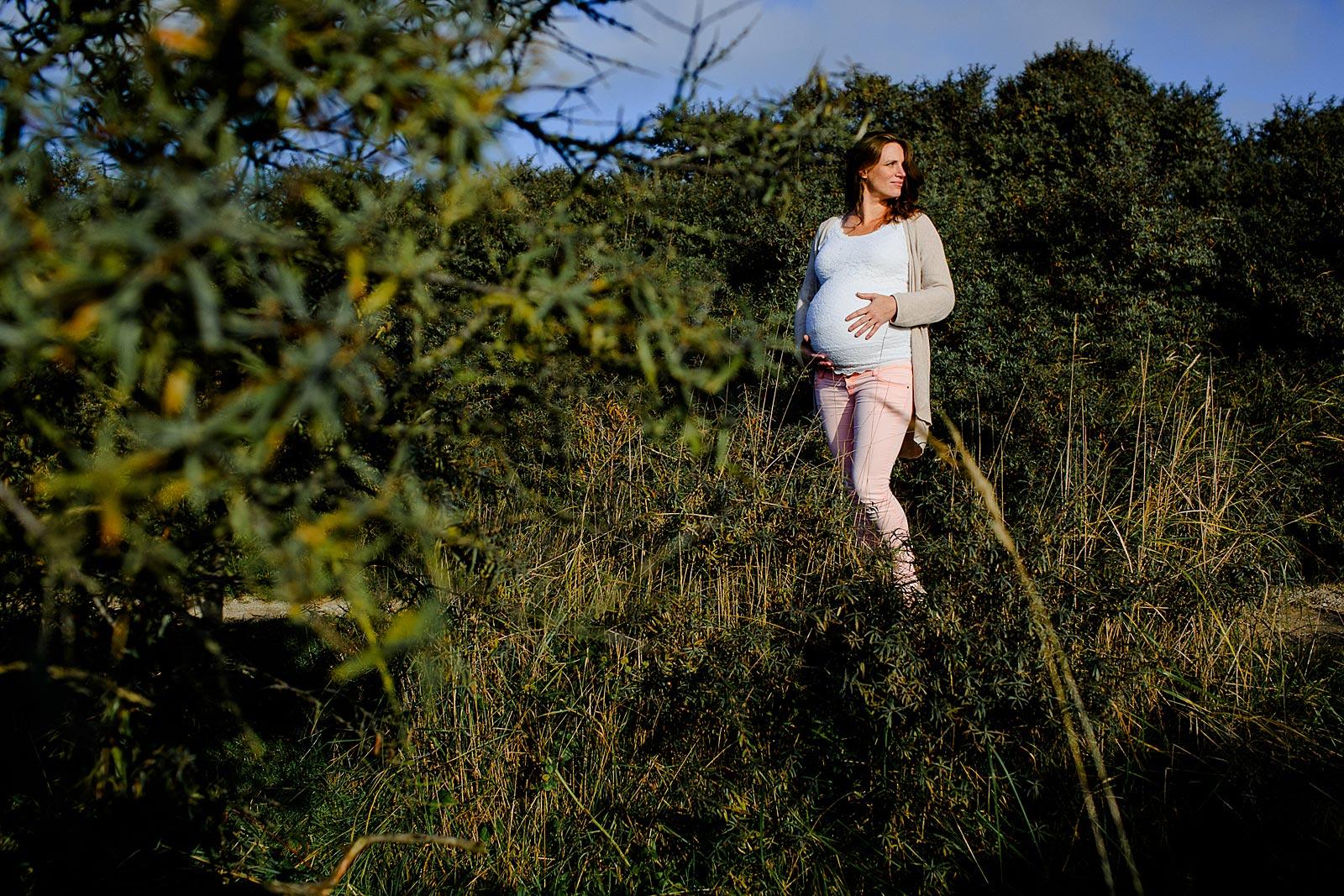 stoere zwangerschapsfotoshoot amsterdam