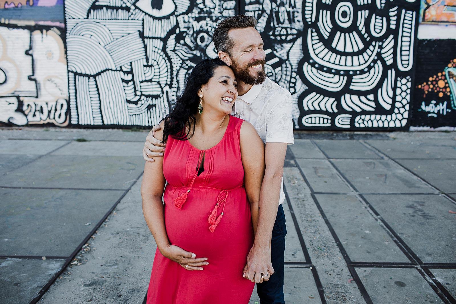 spontane zwangerschapsfotoshoot amsterdam