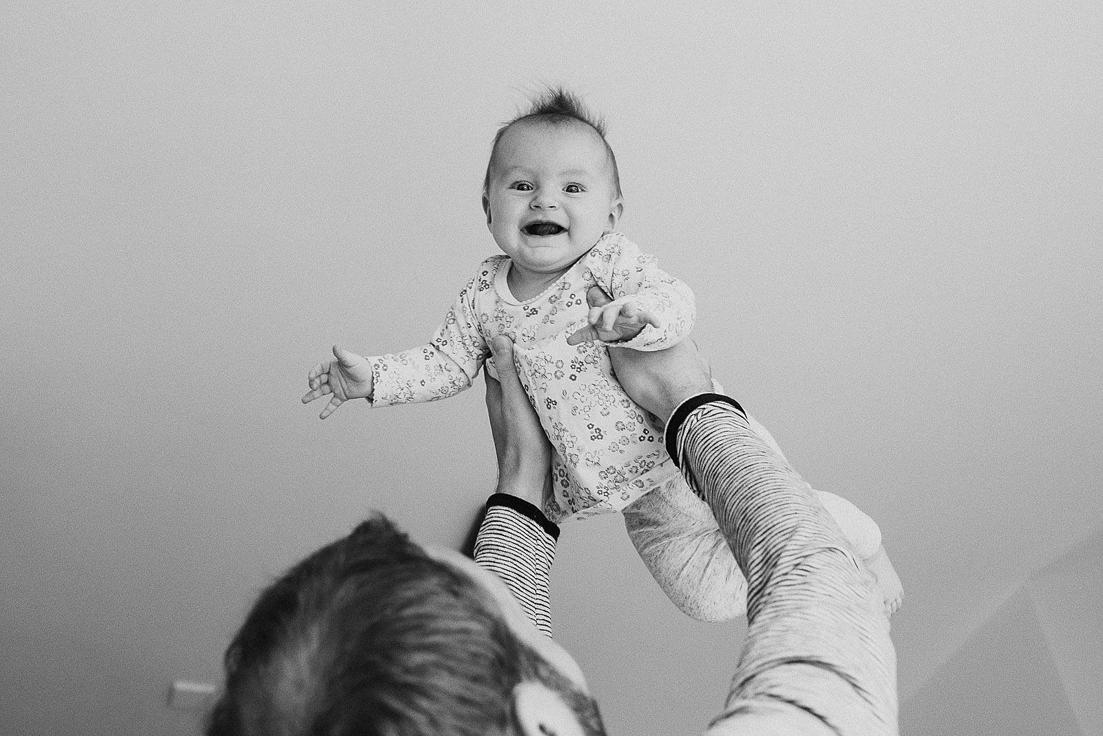 baby flying photoshoot amsterdam