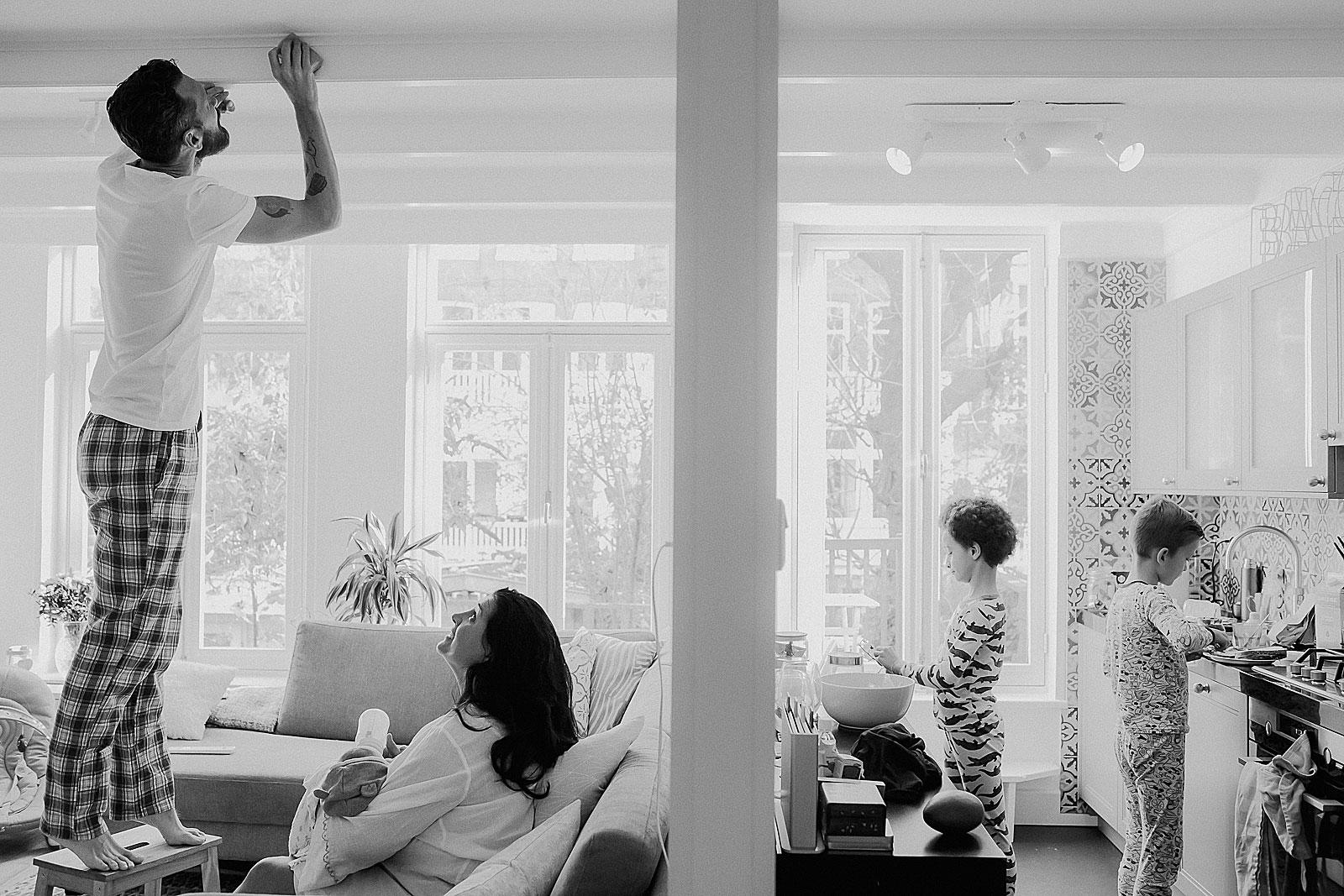 newborn shoot utrecht familie ochtend ritueel