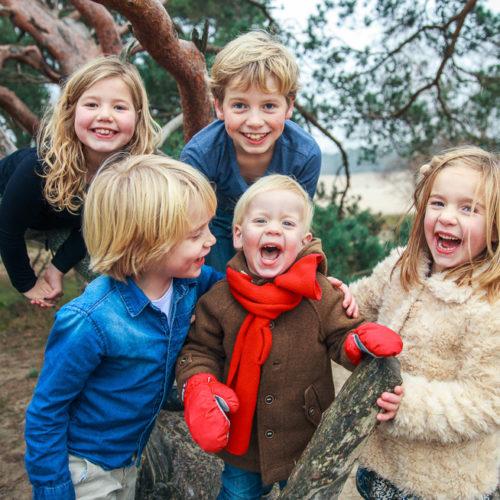 winterse familiefotoshoot